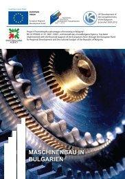 Broschüre in deutscher Sprache - Invest Bulgaria Agency