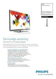 Philips 55 inch MediaSuite LED TV