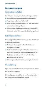 Clusterfonds Innovation - Bayern Kapital - Seite 4