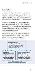 Clusterfonds Innovation - Bayern Kapital - Seite 5