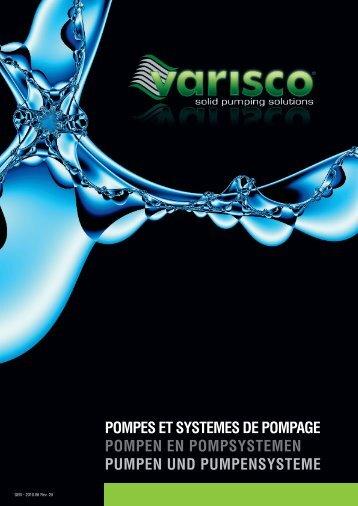 pompes et systemes de pompage pompen en ... - VARISCO SpA