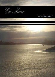 Ex nunc 1/2007 - Justus ry