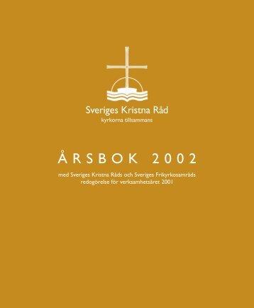 ÅRSBOK 2002 - Sveriges kristna råd
