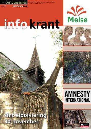 sint-elooiviering 30 november - Gemeente Meise