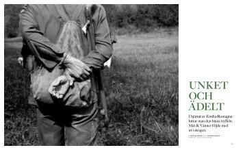 I hjärtat av Emilia-Romagna hittar man den bästa tryffeln. Mat ...