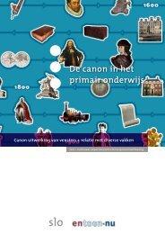 De canon in het primair onderwijs - Slo