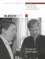 BløderNyt, juni 2010 - Danmarks Bløderforening.