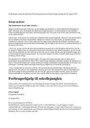 Dansk Energi - SunWise Solenergi
