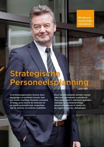 Strategische Personeelsplanning - Binnenlands Bestuur