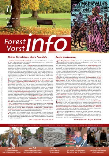 Forest - Gemeente Vorst - Région de Bruxelles-Capitale
