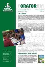 De Orator, Winter 2011 - Forum federatie gezelschapsspellenclubs