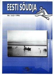 Nr. 1(4) -1996 - Eesti Sõudeliit