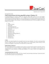 ScanCom presenterar förste gång BMS systemet till ScanVoice