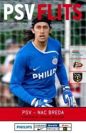 Klik hier om de PSV Flits van PSV - NAC Breda te downloaden (PDF)