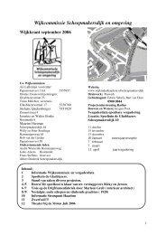 september 2006 - Wijkraad Scheepmakersdijk