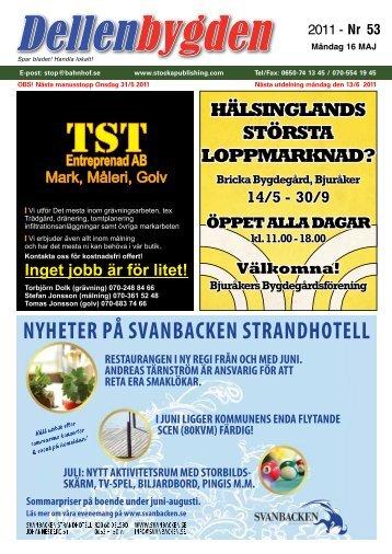 HÄLSINGLANDS STÖRSTA LOPPMARKNAD? - Stocka Publishing