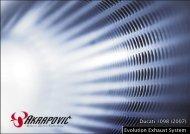 Ducati 1098 (2007) Evolution Exhaust System - Akrapovic
