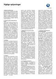 Vigtige Oplysninger (dk)(0,1 Mb)
