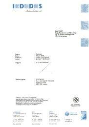 Bijlage 3 Rapport betreffende een partijkeuring op de ... - Leiden