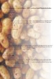 Potatisens historia - Basetool