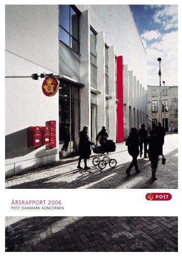 25-08-2010 Årsberetning og regnskab 2006 ... - PostNord