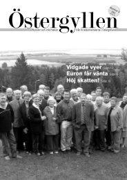 Östergyllen nr 3, 2003 - Kristdemokraterna - Östergötland