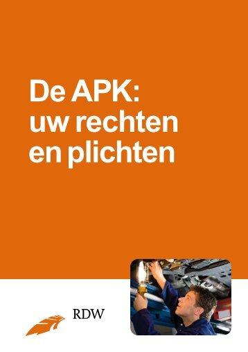De APK: uw rechten en plichten