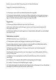 Förslag till stadgar för Irländsk Röd Setterförening 2010
