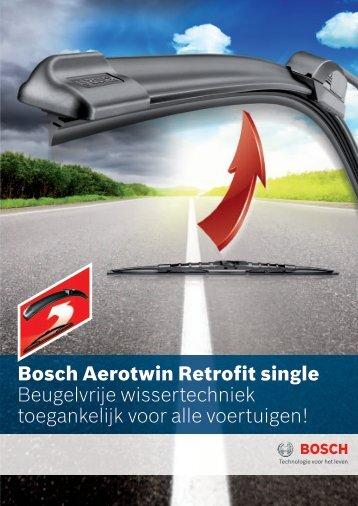 bosch aerotwin Retrofit single Beugelvrije wissertechniek ...