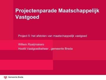 Projectenparade Maatschappelijk Vastgoed