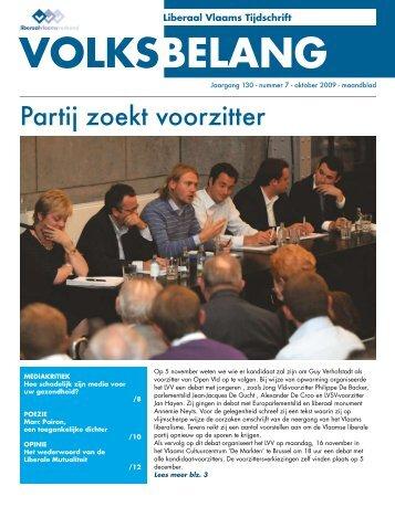 oktober 2009 - Het Volksbelang