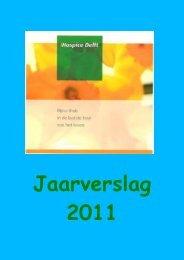 Jaarverslag 2011.pdf - Hospice Delft