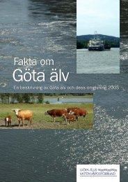 Fakta om Göta älv 2005 - Vattenorganisationer