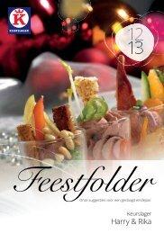 Download Feestfolder 2012 - Keurslager Harry en Rika