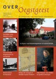 Over Oegstgeest oktober 2009 - Vereniging Oud Oegstgeest