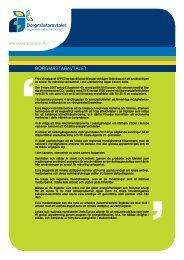 Information om Borgmästaravtalet