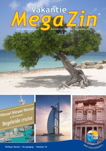 Bekijk MegaZin® 23 - Pelikaan Reizen