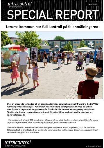 Lerums kommun - Infracontrol