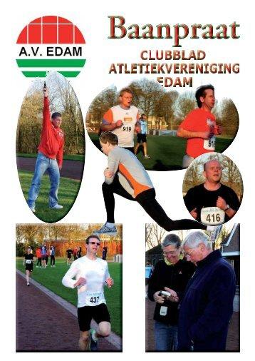 Baanpraat 2010 - Atletiekvereniging Edam - Xs4all