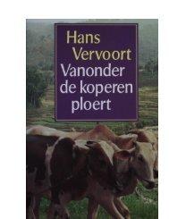 Vanonder de koperen ploert - Hans Vervoort