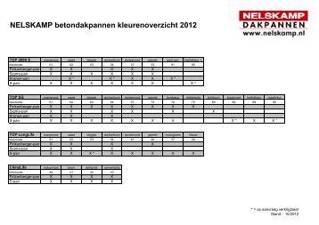 kleuren 2012 - Nelskamp
