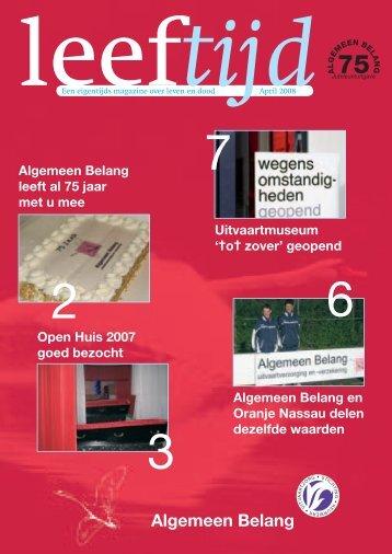 Magazine Leeftijd 2008 - HDB Assen