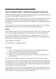 Se programmet for dagen her (pdf) - Spejdernes Lejr 2012