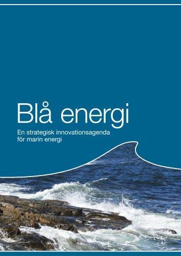 En strategisk innovationsagenda för marin energi