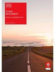 STAND REGLEMENT - Renault Trucks Benelux
