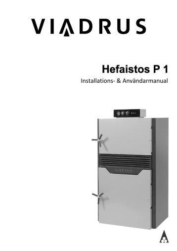Installations- & Användarmanual - Lindquist Heating AB