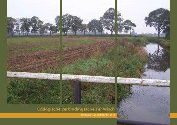 Ecologische verbindingszone Ter Wisch - Hunze en Aa's