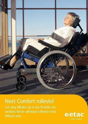 Next Comfort rullestol - Etac.com