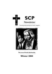 Newsletter - Society of Catholic Priests