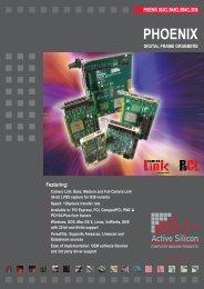 PhoEnIx - Active Silicon